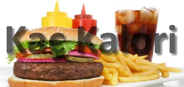 Fast Food Gıdalar Kaç Kalori