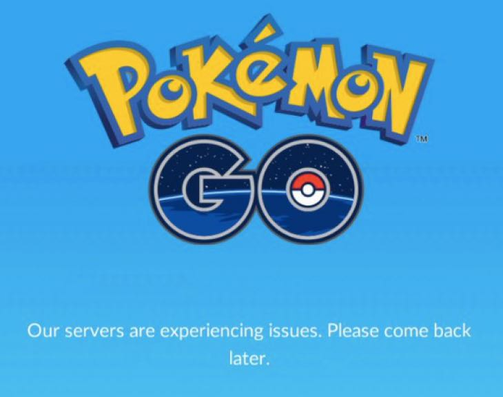 pokemon go server sorunu